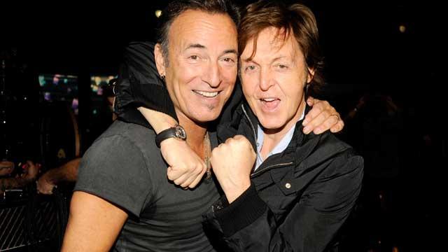 Sir Paul McCartney and Lorde Bruce Springsteen